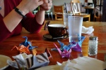 Folding #origamigraffiti for NE Portland.  Submitted by Sara.