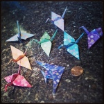 Folding #origamigraffiti for SW Portland.  Submitted by Sara.