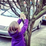 Placing #origamigraffiti in NE Portland.  Submitted by Sara.