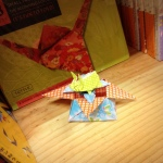 #origamigraffiti at Powell's.  Submitted by Opus.