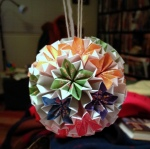 Modular origami bouquet.  Submitted by Opus.