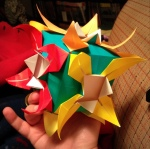 Modular origami.  Submitted by Opus.