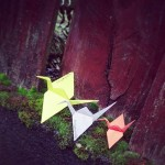Placing #origamigraffiti in SE Portland.  Submitted by Sara.